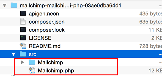 mailchimp-api-files