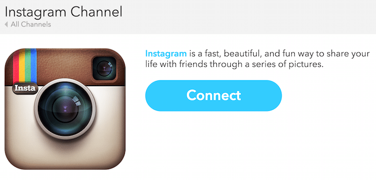 IFTTT-Instagram-Connect