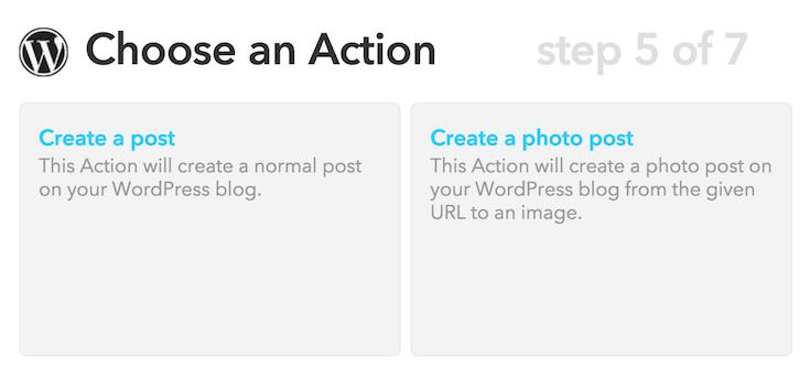 IFTTT-WordPress-Post
