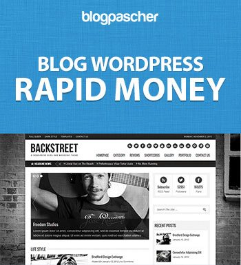 Création Blog WordPress – Rapid Money
