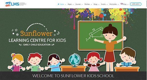 criar portal-educação-formação-para-jovens-crianças-criação-site-learning para os jovens