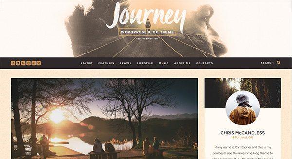 путешествие-тема-WordPress создать-блог-путешествия-турист-тариф-создание-сайта-WordPress-путешественником