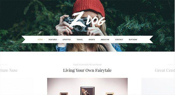 тема-WordPress-блог-создание-Travel-украшения-моды-фотограф