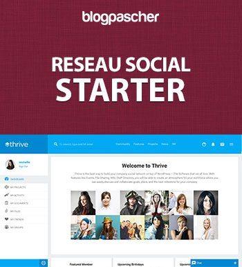 RESEAU SOCIAL STARTER