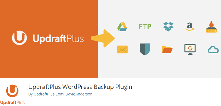 Updraftplus plugin wordpress migration clone sauvegarde