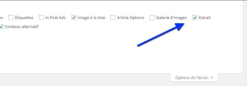 option-decran