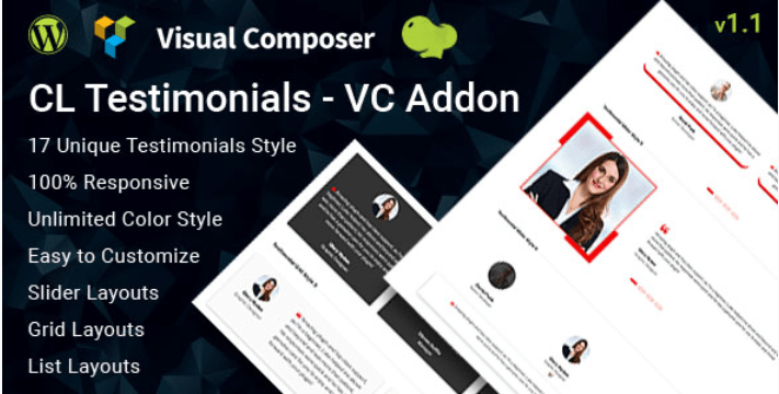 Cl testimonial testimonials add on for visual composer