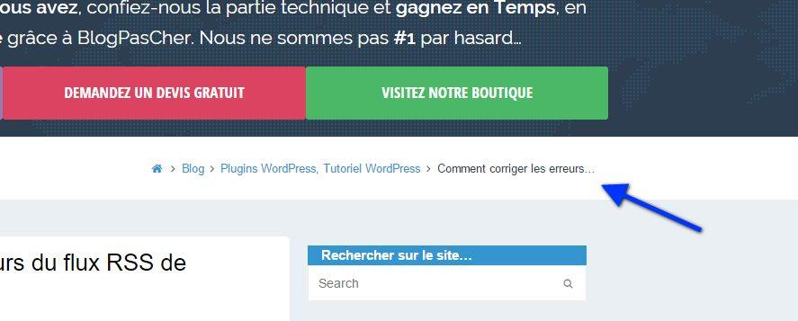 Cómo mostrar una ruta de navegación en su blog de WordPress ...