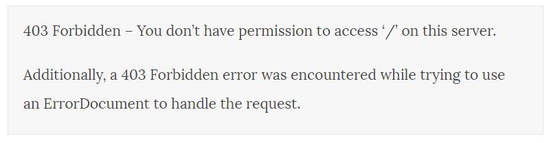 erreur-affichee-sur-navigateur-tutoriel-wordpress-comment-corriger-une-erreur-403