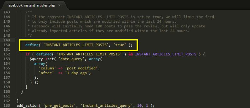 limitare il flusso RSS al tutorial wordpress 24 ore