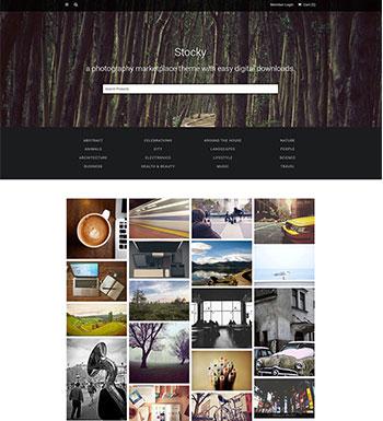 Stocky – Un Thème WordPress Pour Marketplace