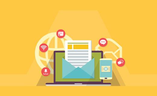 Création d'une liste d'adresse email