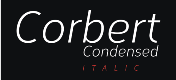 font corbert-condensed-italic-font dành cho WordPress