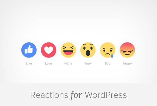 Phản ứng facebook minh họa hướng dẫn wordpress
