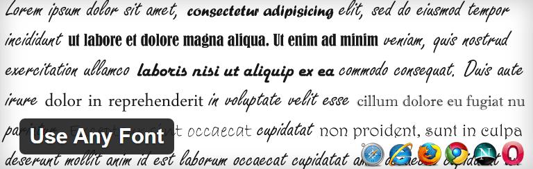 10 polices sans serif pour les titres de votre blog WordPress