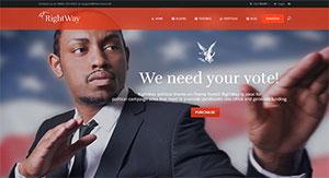 5 thèmes WordPress pour un site de diplomate, parlementaire et de gouvernement