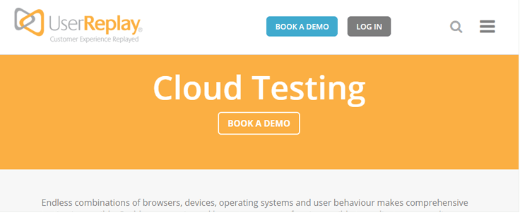 Cloud testing outil pour tester un site web