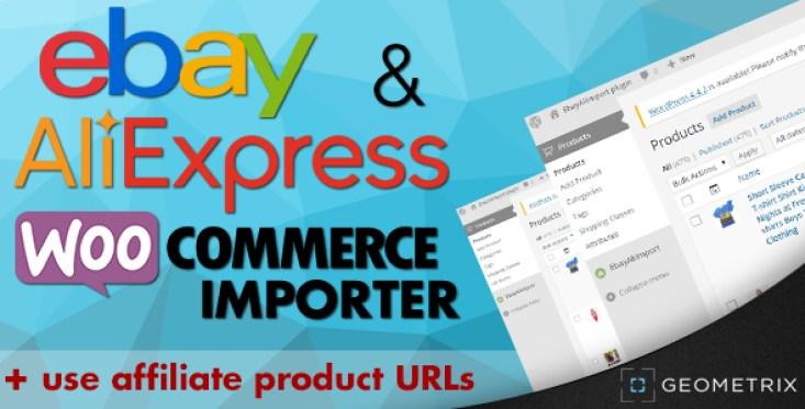 Ebay y de importación WooCommerce Aliexpress