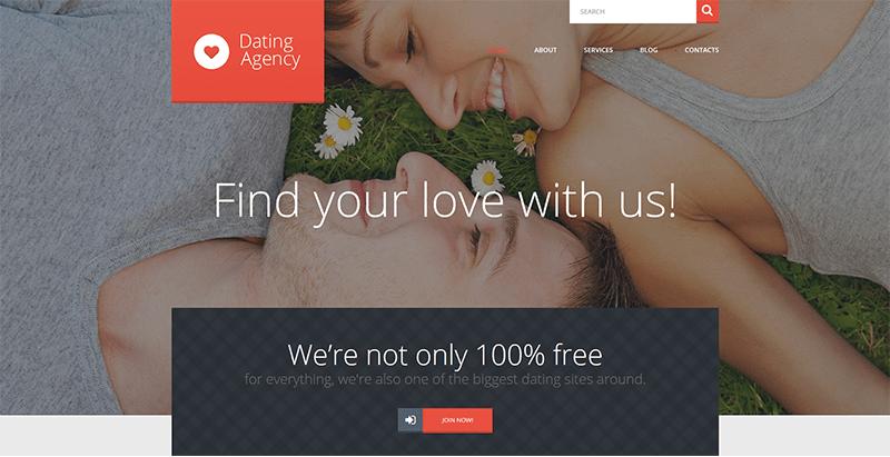 Gratuito sito di incontri tema Wordpress