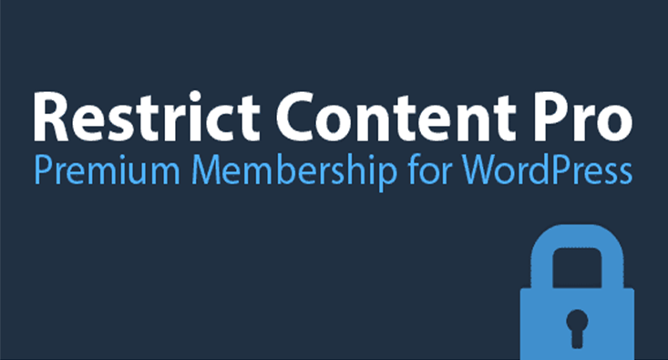 Restrict content pro plugin wordpress espace membre