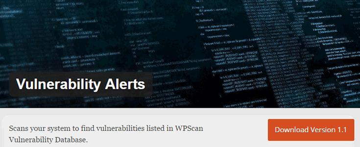 Vulnerability-Alerts-plugin pour protection d'un site web
