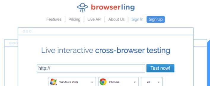 browserling ferramenta de teste de site na Web