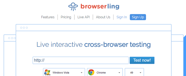 browserling outil de test de site web-