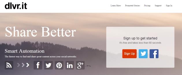 DLVR Sticky RSS решение для WordPress