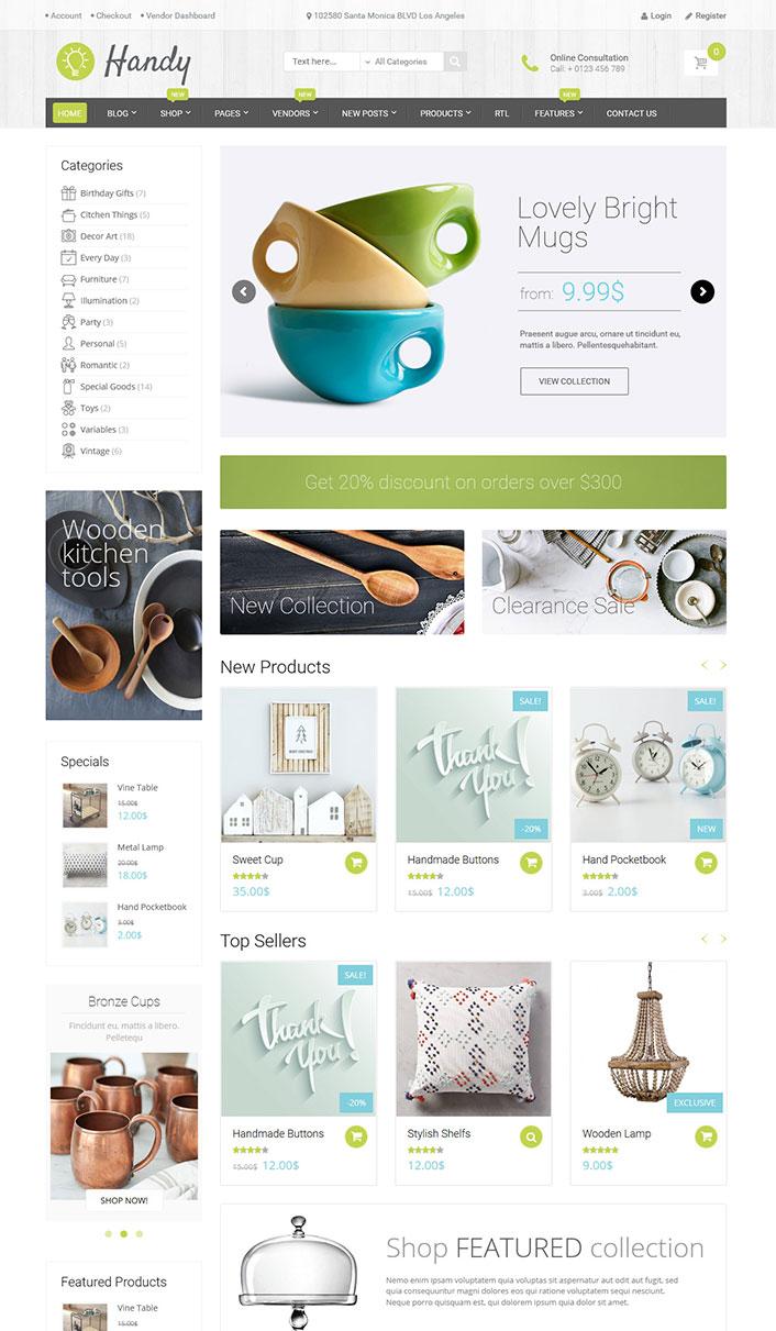 Práctico - Un tema de WordPress para el comercio electrónico Sitio ...
