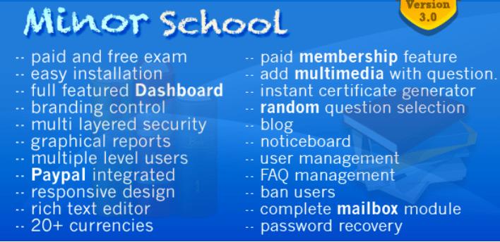 plugins WordPress pour créer et gérer un site web éducatif - Minor school mcq