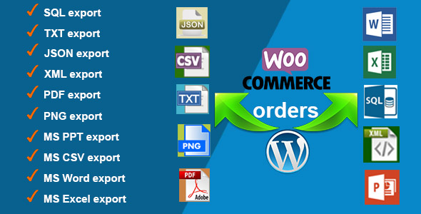 4 orders export for woocommerce