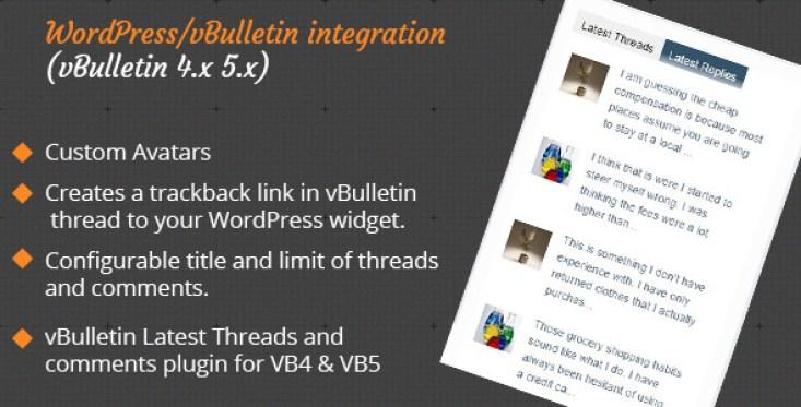 VBulletin Latest Threads
