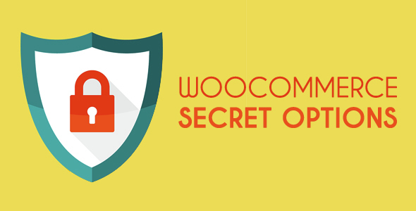 WooCommerce Secret Options