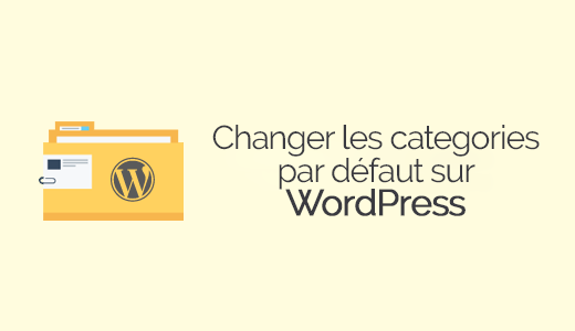 categoria padrão WordPress
