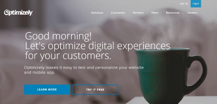 optimizely.com outil pour test A-B