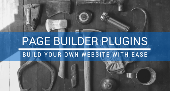 page-builder-plugins pour créer des pages sur WordPress