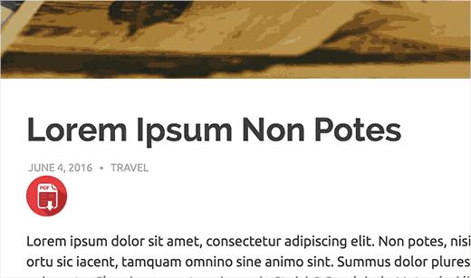 baixar arquivos como PDF no WordPress