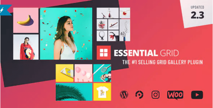 Плагин Essential Grid Gallery для WordPress