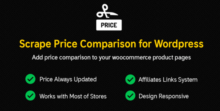 Scrape price comparison plugins wordpress affiliation gagner argent blog site web