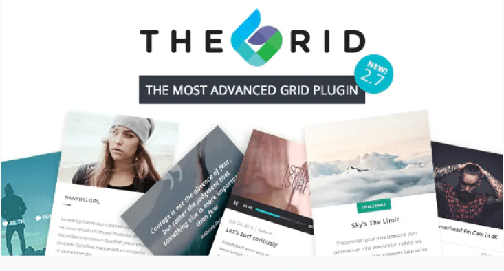 The grid responsive wordpress grid plugin