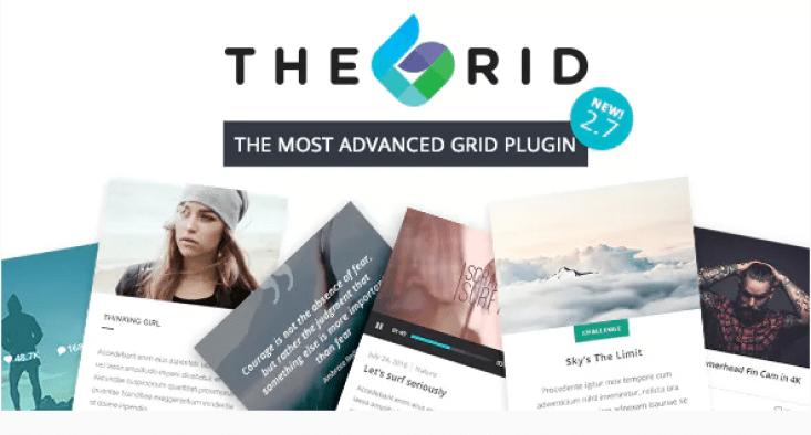 Плагин Grid Responsive WordPress Grid