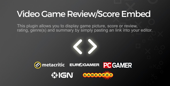Video Game Review Score Embed