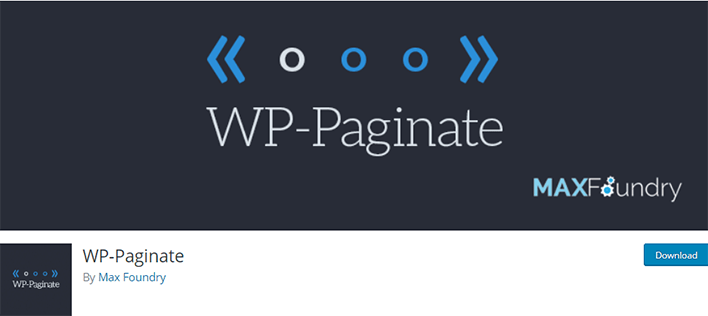 Wp paginate wordpress plugin