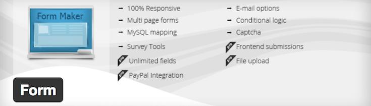 WordPress-Form-Maker-plugin