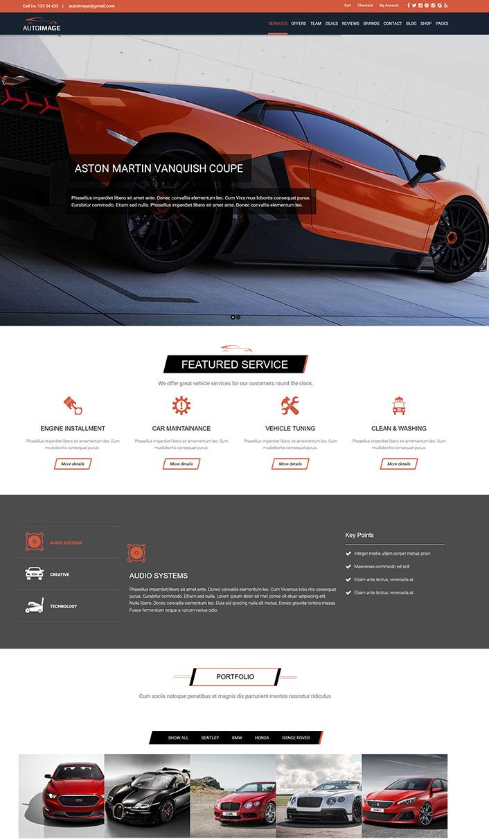 Automática de la Imagen - Un tema de WordPress para el ...