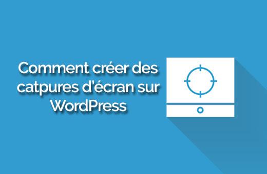 WordPress captura automática