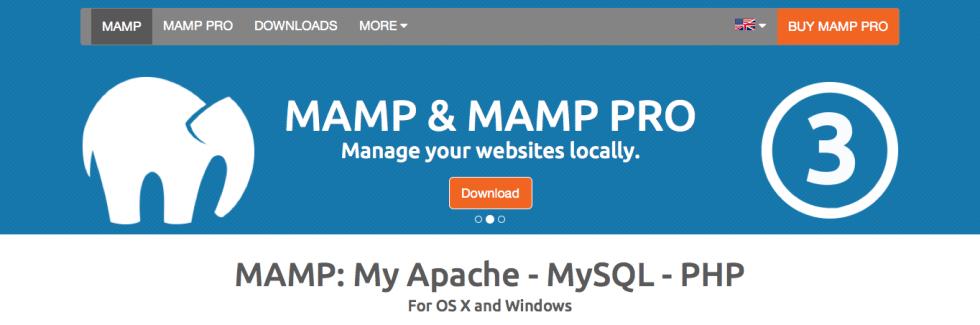 mamp logo WordPress