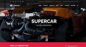 10 thèmes WordPress pour garage automobile