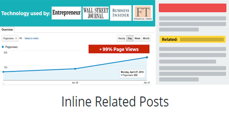 Inline related posts plugin wordpress publicité 1