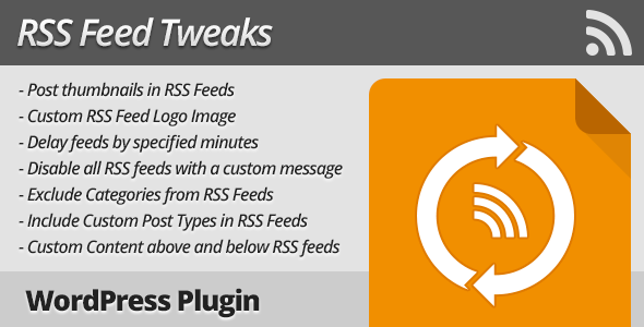 RSS Feed Tweaks